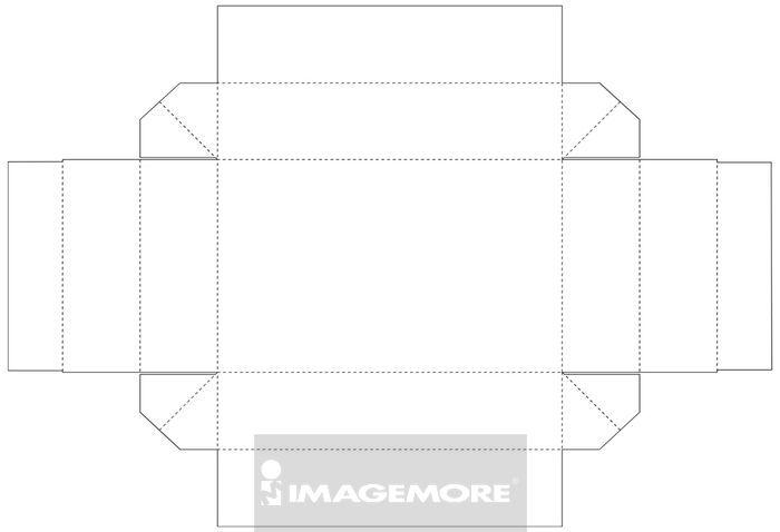 00122120,a012032,盒子,折纸,包装盒,纸盒结构