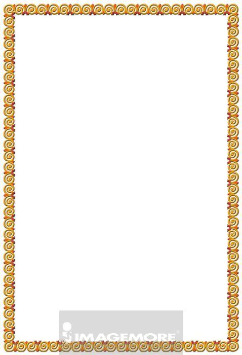 画-中国古代边框