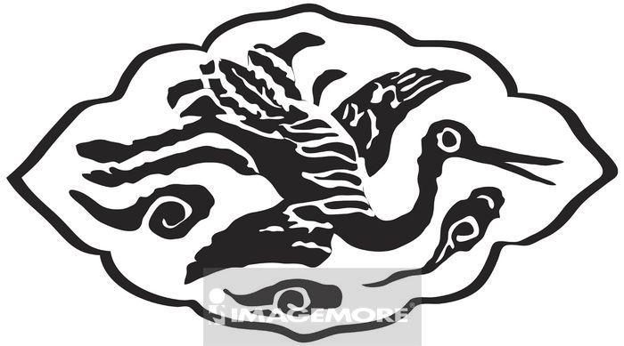 古代,玉饰,传统,艺术,古早,图腾,玉器,纹饰,图案,拓印,装饰,动物,鸟型