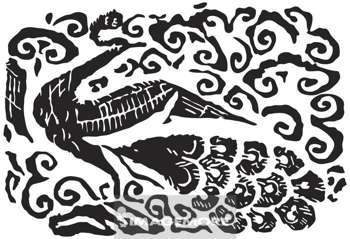 古代,玉饰,传统,艺术,古早,图腾,玉器,纹饰,图案,拓印,装饰,动物,鸟
