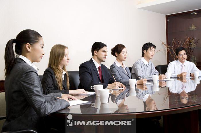 会议,团队合作,商业人物