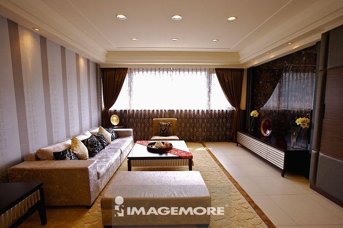 华丽装饰,客厅,