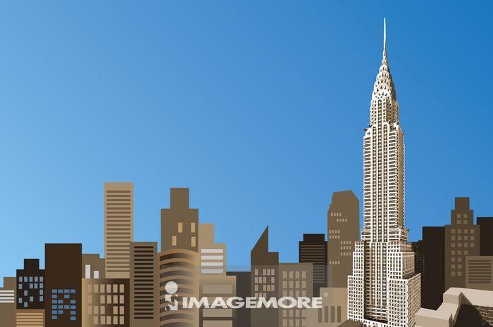 美国,纽约,帝国大厦,