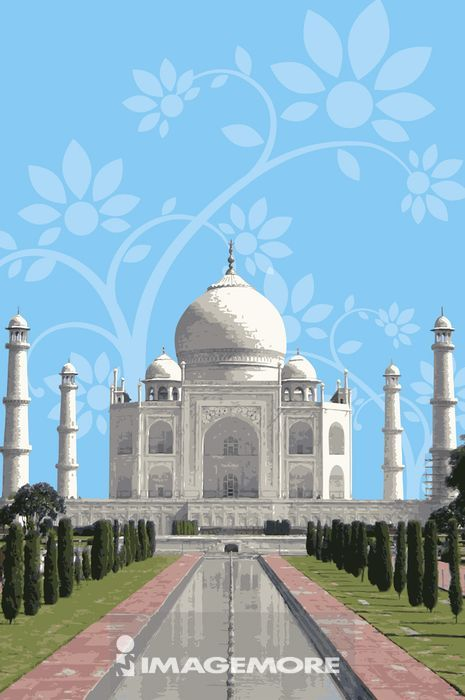 印度,泰姬马哈陵,世界遗产,世界文化遗产,世界新七大奇迹,