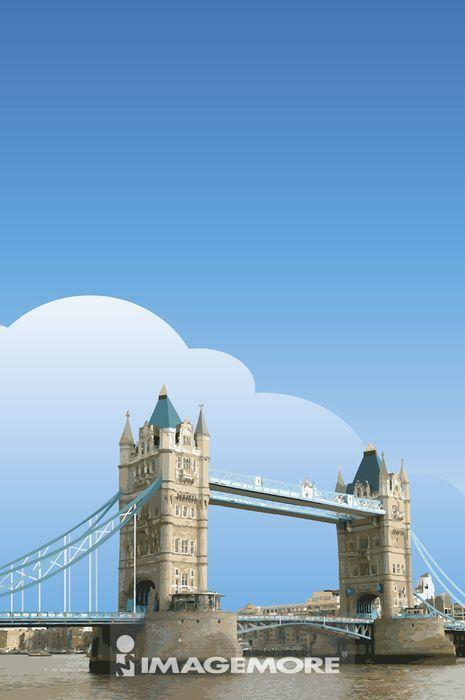 英国,伦敦,伦敦大桥,首都,