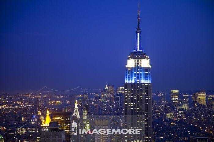 帝国大厦,摩天楼,曼哈顿,纽约市,纽约州,美国,北美洲