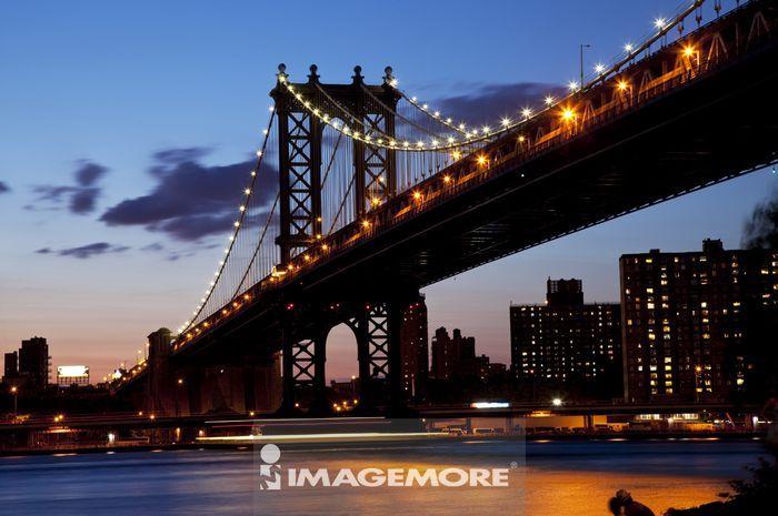曼哈顿桥,曼哈顿,纽约市,纽约州,美国,北美洲