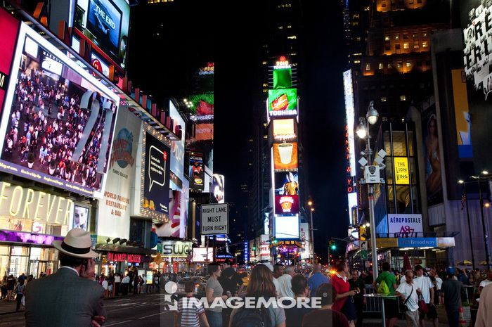 时代广场,曼哈顿,纽约市,纽约州,美国,北美洲