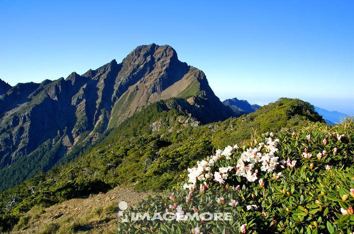 亚洲,中国,台湾,南投县,玉山,玉山主峰,标高3952公尺,