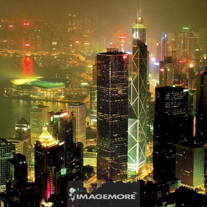 香港,亚洲,都市景观,