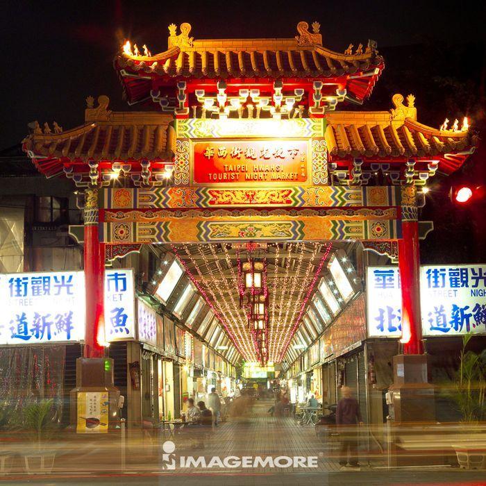 台湾,台北市,华西街,华西街观光夜市