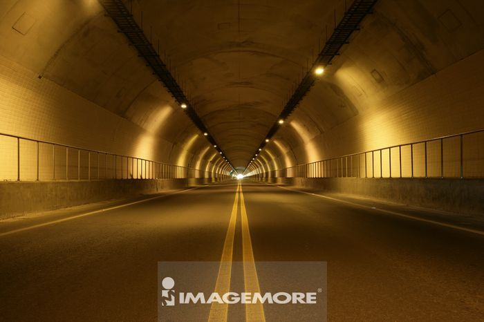 隧道,公路,步道