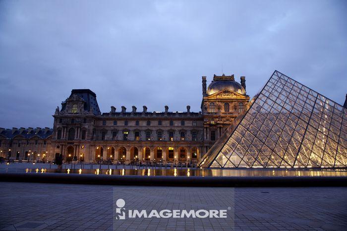 法国,巴黎,罗浮宫,