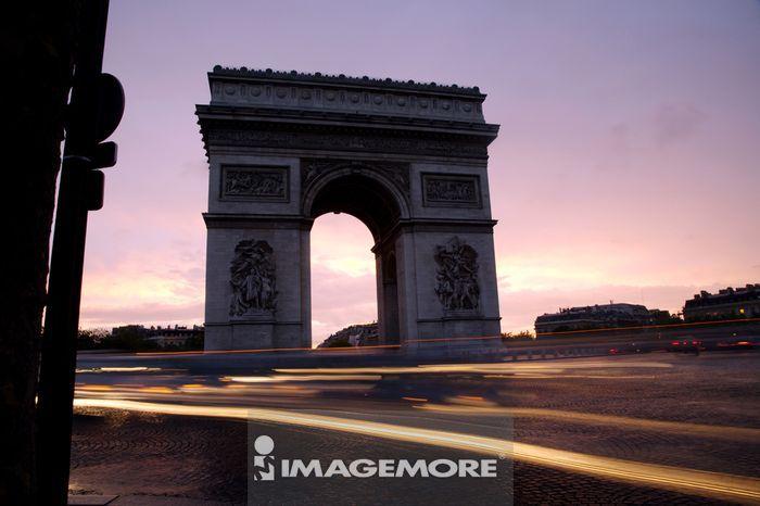 法国,巴黎,凯旋门,