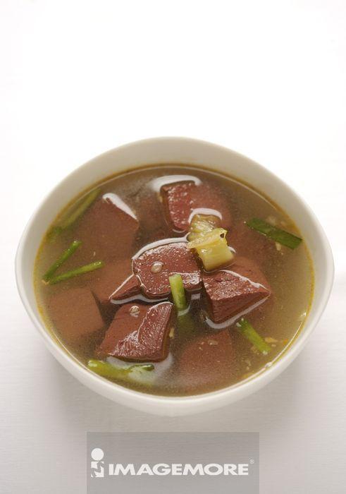 一碗猪血汤