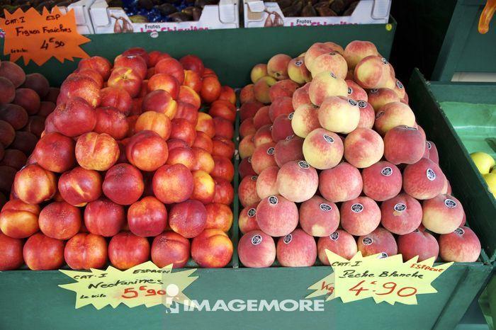 法国,水果,桃子,