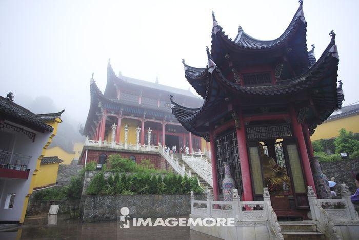 中国,安徽省,九华山,地藏禅寺
