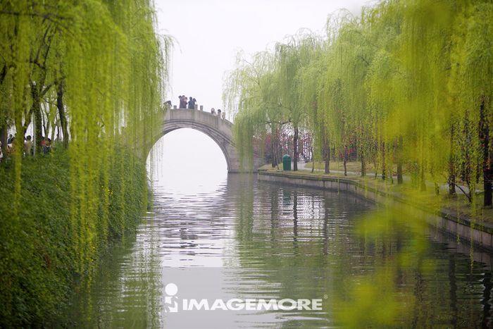 中国,浙江省,杭州,西湖
