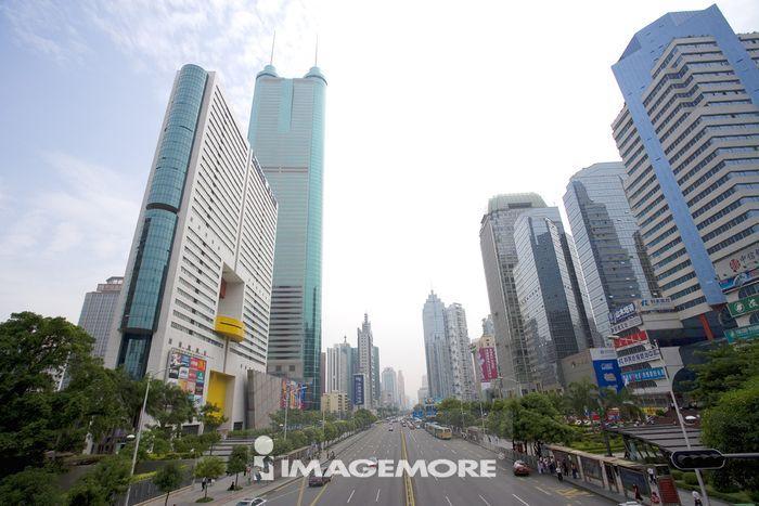 中国,广东省,深圳,都市风景