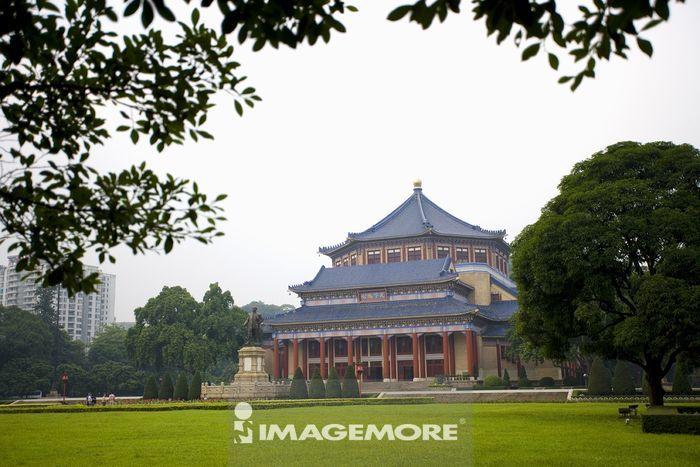 中国,广东省,广州,中山纪念堂