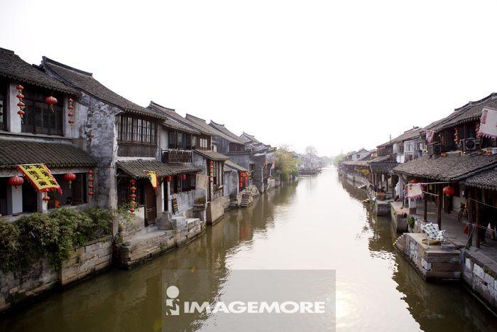 中国,浙江省,嘉善县,西塘镇,古镇,水乡