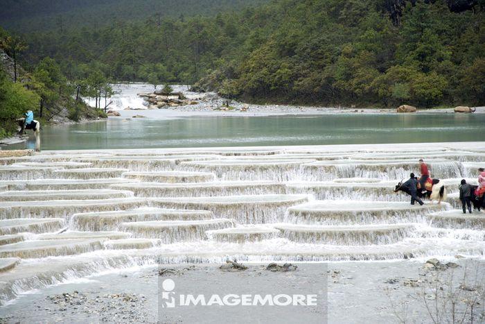 中国,云南省,丽江,白水河