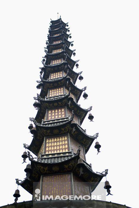 中国,四川省,成都,文殊院,宝塔