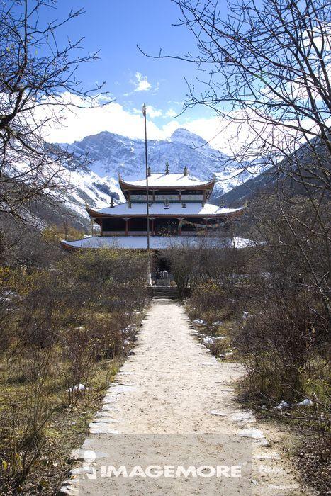 中国,四川省,阿坝藏族羌族自治州,阿坝州,松潘县,黄龙,中寺