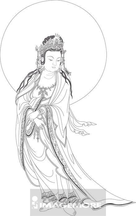 佛像,,观世音菩萨高清合法正版商业图片