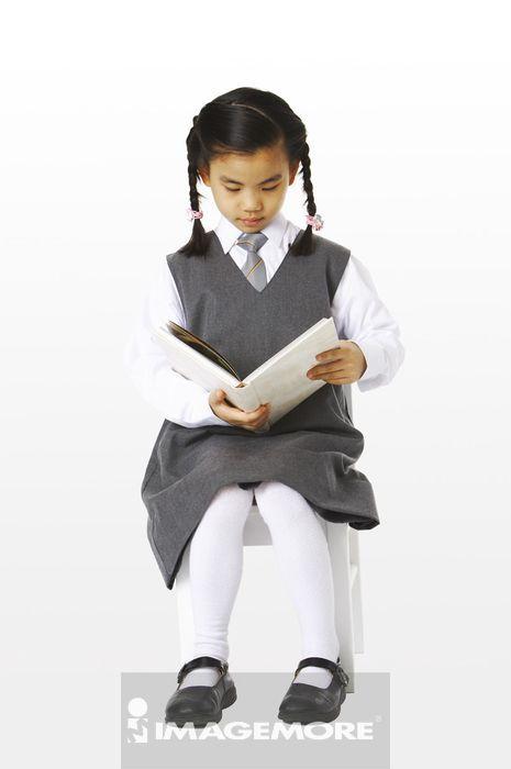 女孩,,学校制服