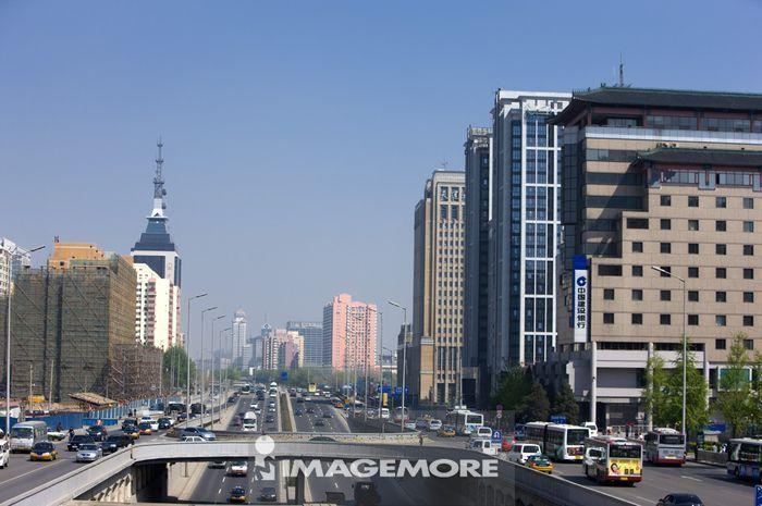 中国,北京,街道