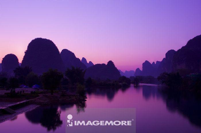 中国,广西,阳朔,遇龙河