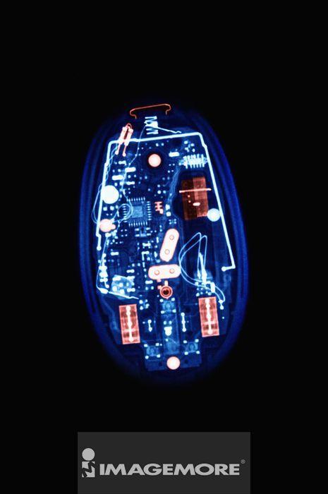X光,计算机鼠标