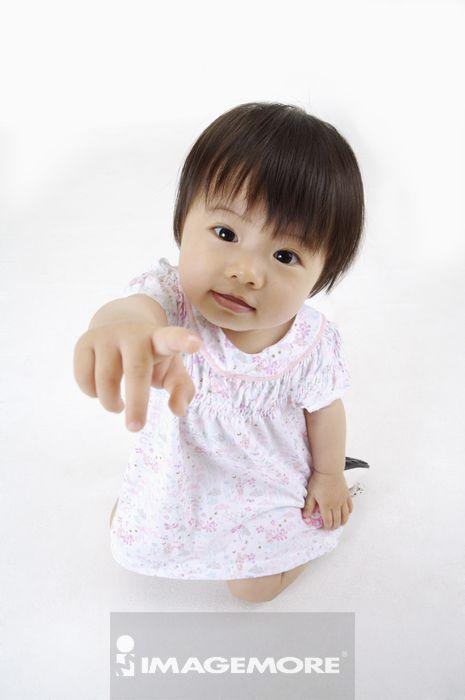 20010012,中国人,室内,棚内拍摄,白背景,白天,彩色,影像,数码,儿童