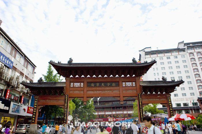 亚洲,中国,江苏省,南京,夫子庙,行人徒步区