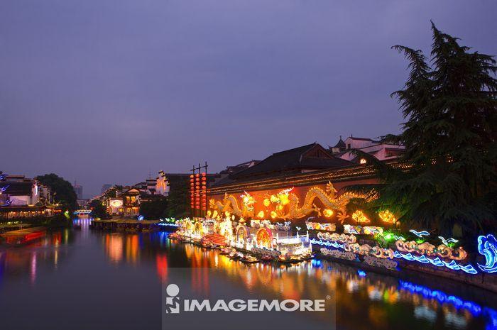 亚洲,中国,江苏省,南京,秦淮河,夫子庙,大照壁