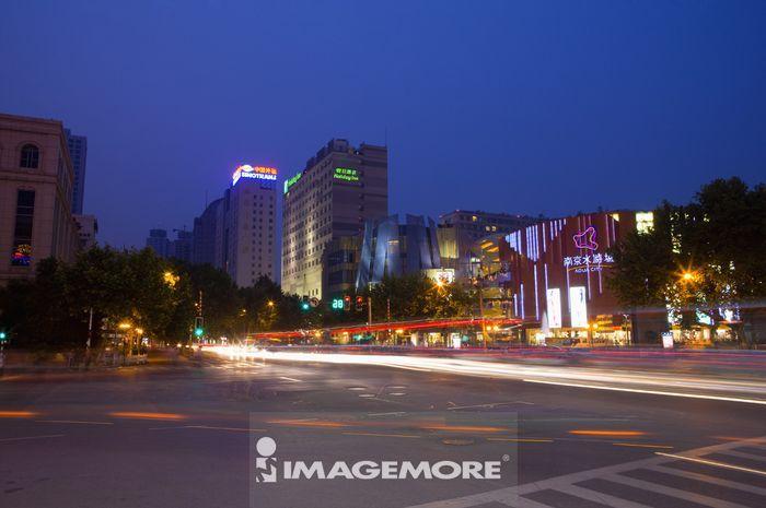 亚洲,中国,江苏省,南京,南京商业街