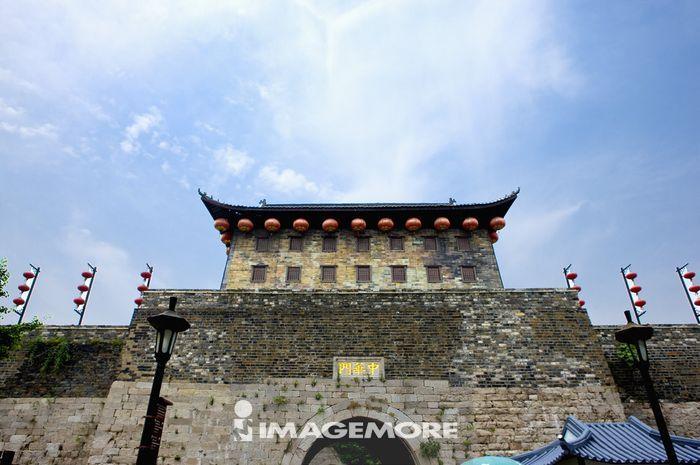 亚洲,中国,江苏,南京,中华门,古城墙