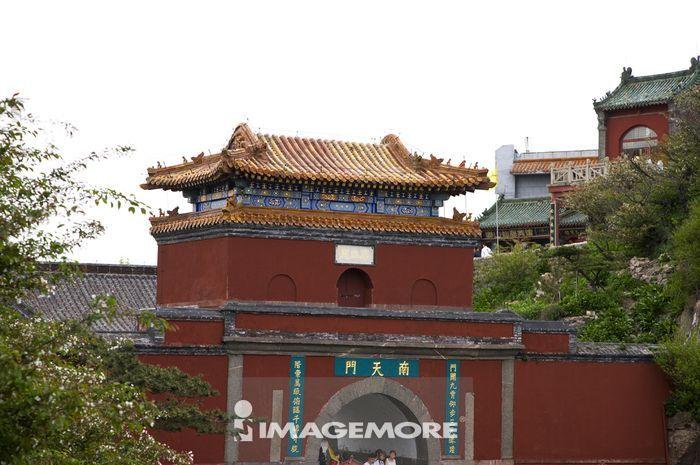 中国,山东省,泰安市,泰山,南天门,世界遗产,世界文化遗产,世界自然遗产,