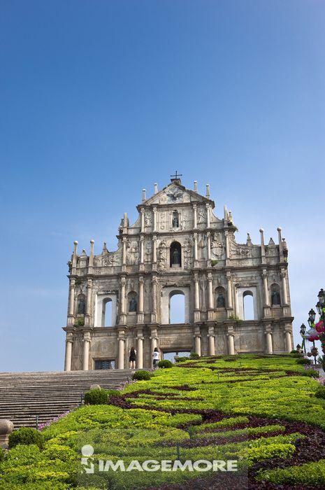 中国,澳门,大三巴牌坊,世界遗产,世界文化遗产