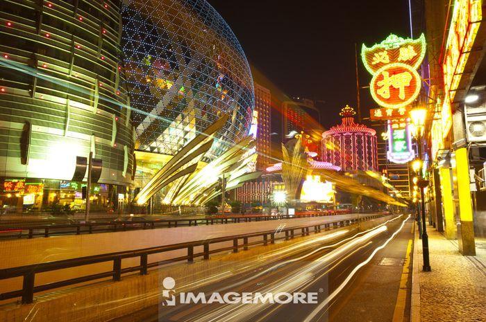 中国,澳门,新葡京,街景