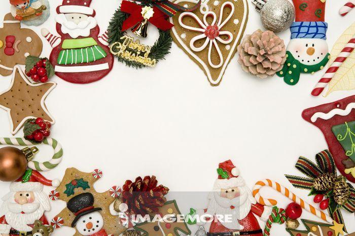 圣诞装饰,姜饼