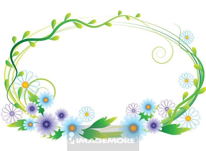 绘画花边边框漂亮简单