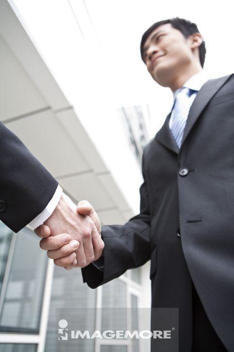 商业人物,握手