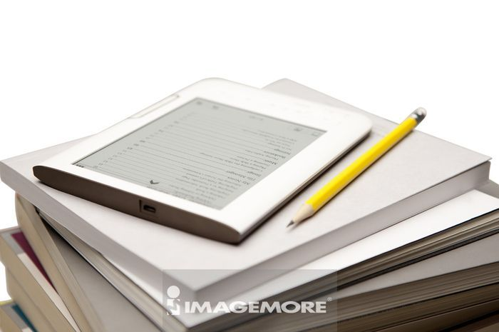书,触控屏幕,平板计算机