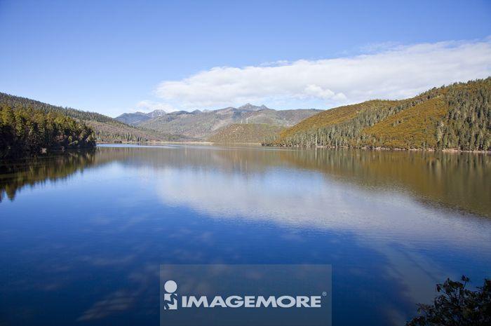 亚洲,中国,云南省,香格里拉,属都湖,普达措公园,