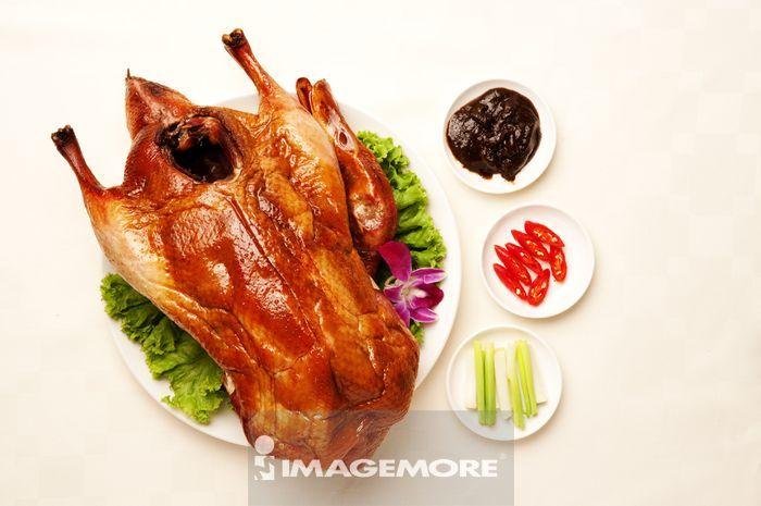北京烤鸭,烤鸭,中式料理