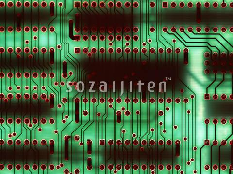 科幻电路板 创意
