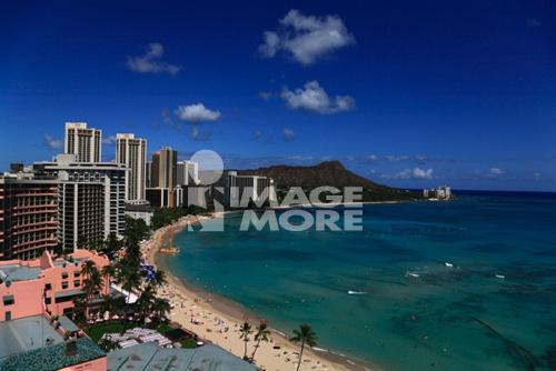 Beach Resort, Honolulu, Hawaii, U.S.A.