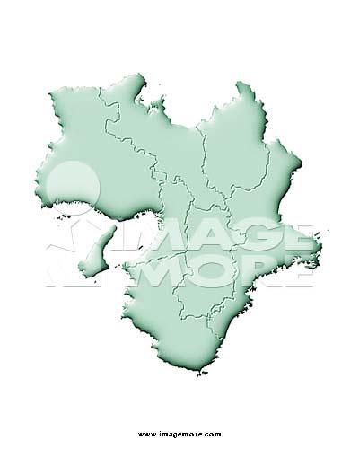 世界&日本地图